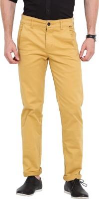 Exitplay Slim Fit Men's Beige Trousers