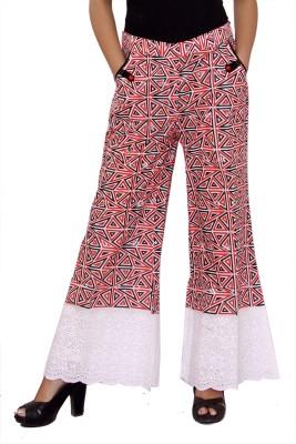 Hobz Regular Fit Women's Multicolor Trousers