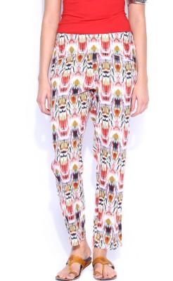 Anouk Regular Fit Women's Multicolor Trousers