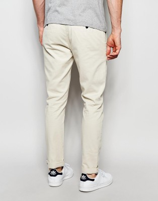 MeraKapda Slim Fit Men's Beige Trousers