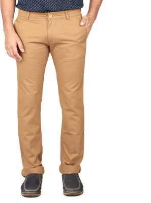 Irony Skinny Fit Men's Brown Trousers