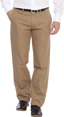 ColorPlus Slim Fit Men's Beige Trousers