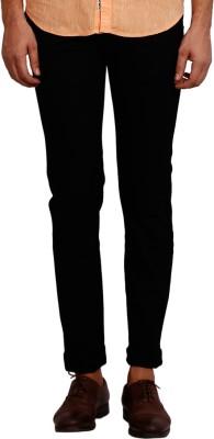 Volume Zero Slim Fit Men's Dark Blue Trousers