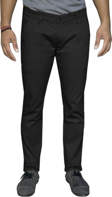 Oiin Regular Fit Men's Black Trousers