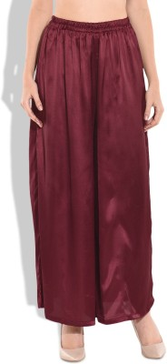 MODISH VOGUE Regular Fit Women's Maroon Trousers