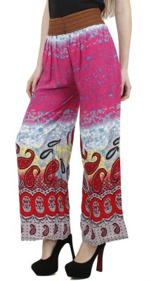 Camey Regular Fit Womens Pink Trousers
