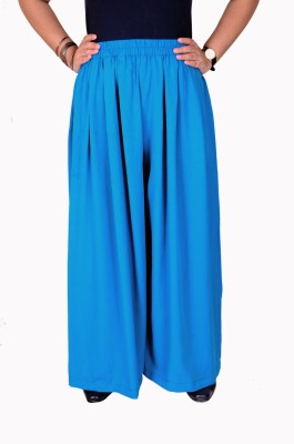 Teeny Bopper Regular Fit Women's Light Blue Trousers at flipkart