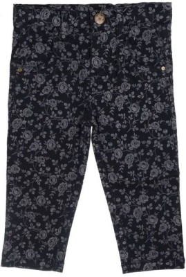 Joy N Fun Regular Fit Baby Girl's Black Trousers