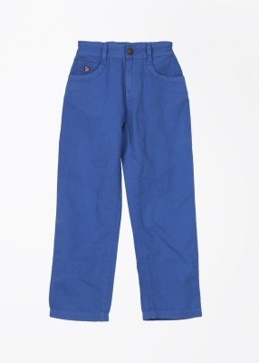 U.S. Polo Assn. Slim Fit Boy's Blue Trousers