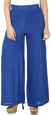 Arma Regular Fit Women's Blue Trousers