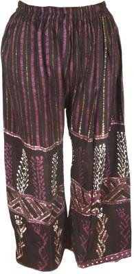 Shopatplaces Regular Fit Women's Black Trousers