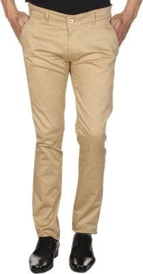 Forever19 Slim Fit Men's Beige Trousers