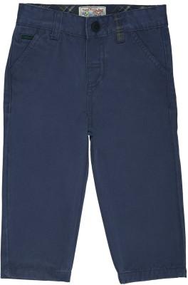 Wow Mom Regular Fit Baby Boy,s Dark Blue Trousers