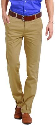 Perfect Regular Fit Men's Beige Trousers