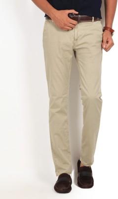 GAS Slim Fit Men's Beige Trousers