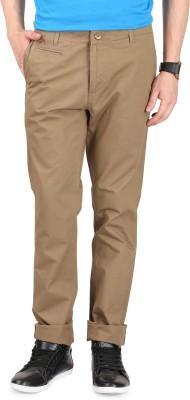 FR Slim Fit Men's Green Trousers