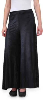 GSI Regular Fit Women's Black Trousers