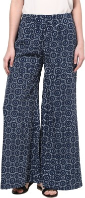 Taurus Regular Fit Women's Blue Trousers