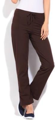 Jockey Women's Brown Trousers