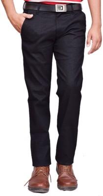 British Terminal Slim Fit Mens Black Trousers