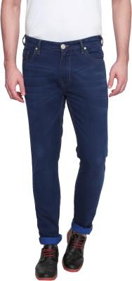 Zovi Slim Fit Men's Blue Trousers