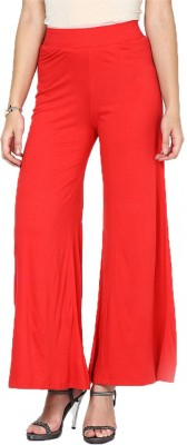Sheryl Trendz Regular Fit Women,s Red Trousers