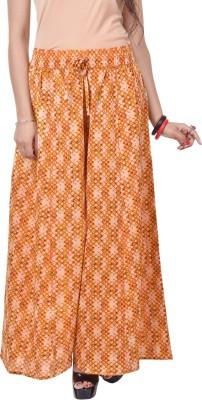 Artisan Creation Regular Fit Women's Yellow Trousers