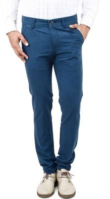 Uber Urban Slim Fit Men's Blue Trousers
