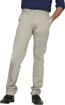 Canoe Regular Fit Men's Grey Trousers