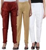 NumBrave Slim Fit Women's White, Gold, M...