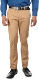 Oxemberg Slim Fit Men's Beige Trousers
