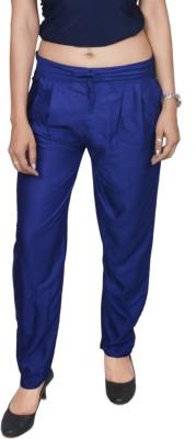 carrol Regular Fit Women's Blue Trousers