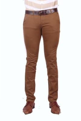 urbantouch Regular Fit Men's Beige Trousers