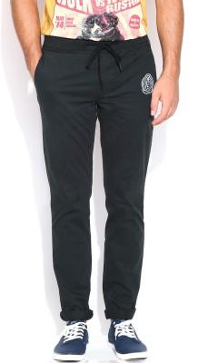 Kook N Keech Marvel Regular Fit Men's Black Trousers