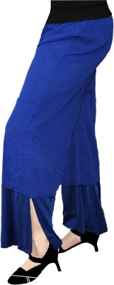 AS42 Regular Fit Women's Blue Trousers