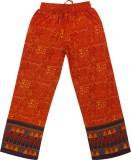 Hunny Bunny Regular Fit Girls Orange Tro...