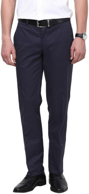 GIVO Slim Fit Men's Blue Trousers