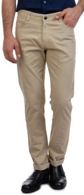 Sting Slim Fit Men's Cream Trousers