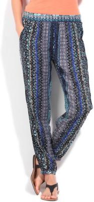 People Regular Fit Women's Multicolor Trousers