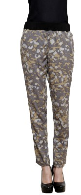 I Am For You Regular Fit Women's Grey Trousers