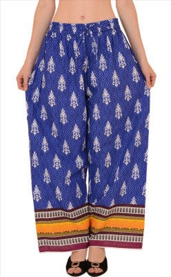 Skirts & Scarves Regular Fit Women's Blue Trousers