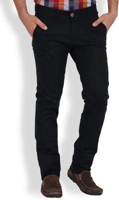 Volume Zero Slim Fit Men's Blue Trousers