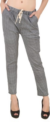 Mojeska Skinny Fit Women,s Multicolor Trousers