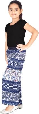 Naughty Ninos Slim Fit Girl's Blue Trousers