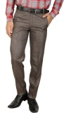 Larwa Fashion Regular Fit Men's Brown Tr...