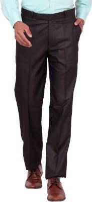 Matrix Slim Fit Men's Grey Trousers