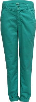 Slub Junior By Inmark Regular Fit Boy's Light Green Trousers