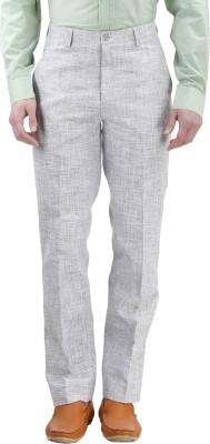 Gazi Regular Fit Men's Grey Trousers