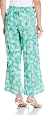 Atayant Regular Fit Women's Green Trousers