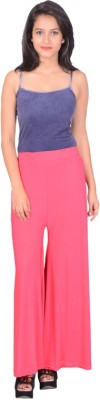 capy Regular Fit Women's Pink Trousers